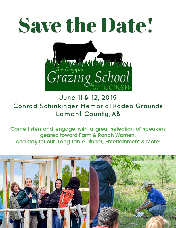 Grazing School Save the Date