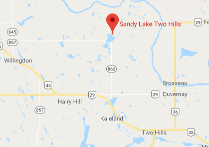 Sandy Lake Directions